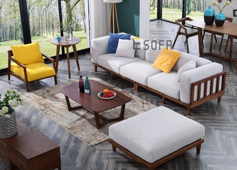 Sofa gỗ E198