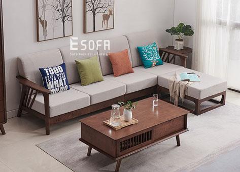Sofa gỗ E202