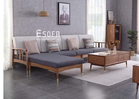 Sofa gỗ E206