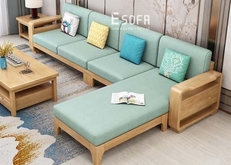 Sofa gỗ E207