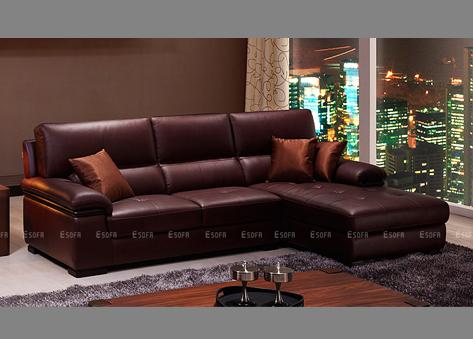 Sofa góc da E451