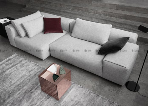 Sofa nỉ Hàn Quốc E460