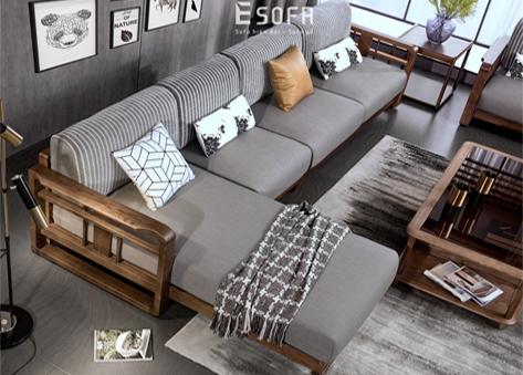 Sofa gỗ hiện đại E229